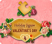 Free Holiday Jigsaw Valentine's Day 4 Game