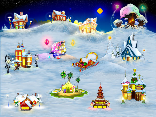 Holly: A Christmas Tale Game screenshot 1
