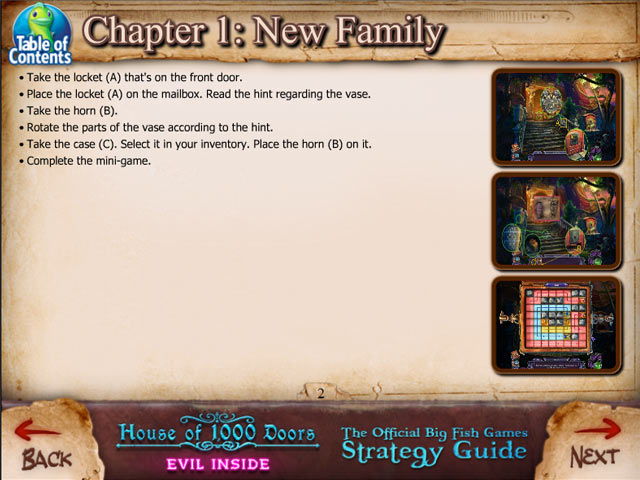 House of 1000 Doors: Evil Inside Strategy Guide Game screenshot 1