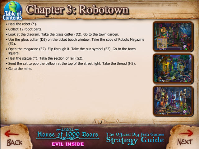 House of 1000 Doors: Evil Inside Strategy Guide Game screenshot 3