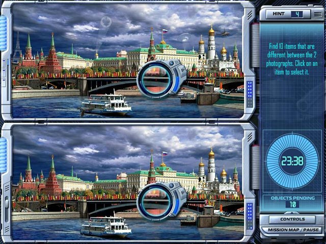 Interpol: The Trail of Dr.Chaos Game screenshot 2