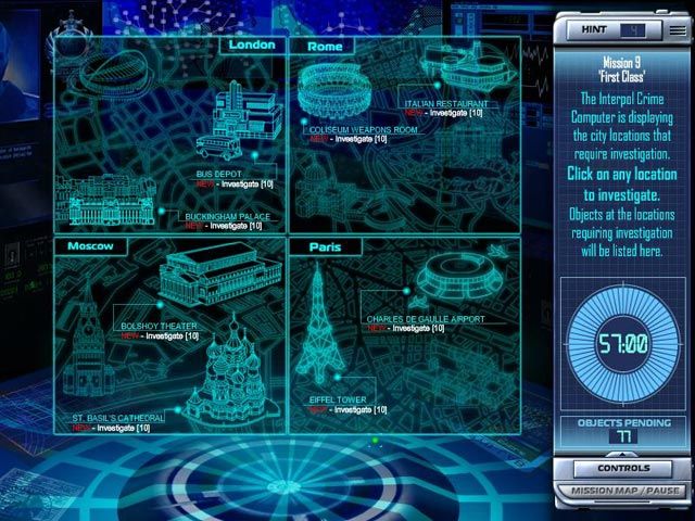Interpol: The Trail of Dr.Chaos Game screenshot 3