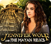 Free Jennifer Wolf and the Mayan Relics Game