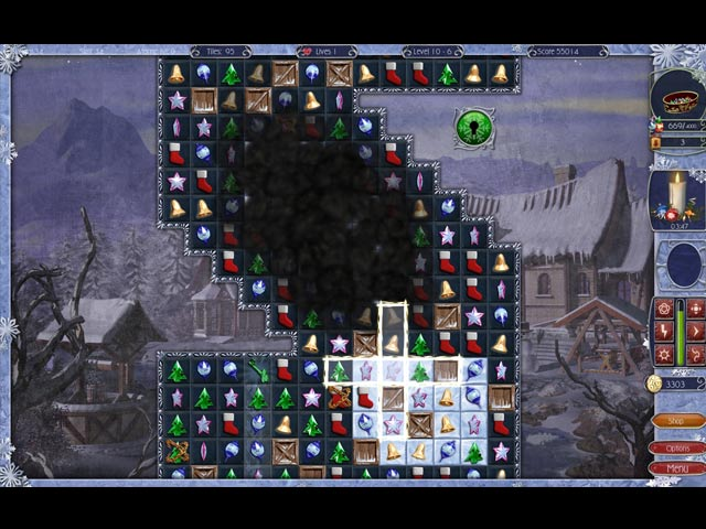 Jewel Match: Snowscapes Game screenshot 1