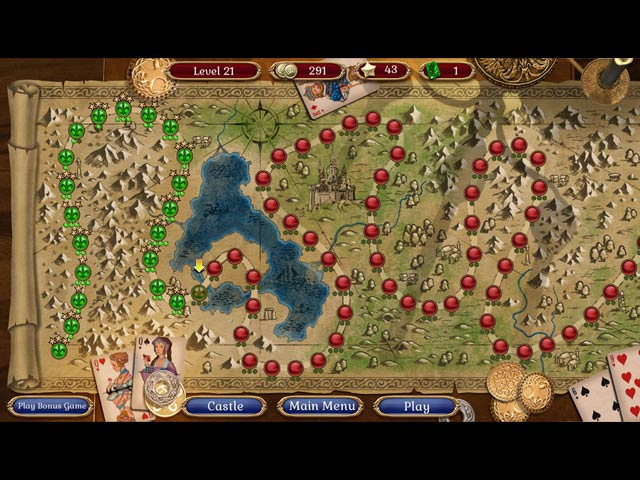 Jewel Match Solitaire Collector's Edition Game screenshot 2