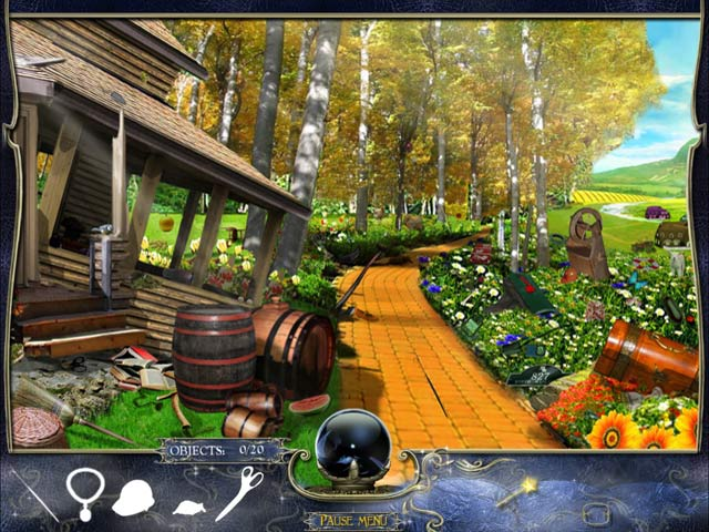 L. Frank Baum's The Wonderful Wizard of Oz Game screenshot 1