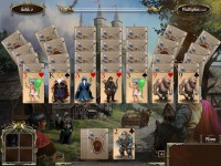 Legends of Solitaire: Curse of the Dragons Game screenshot 1