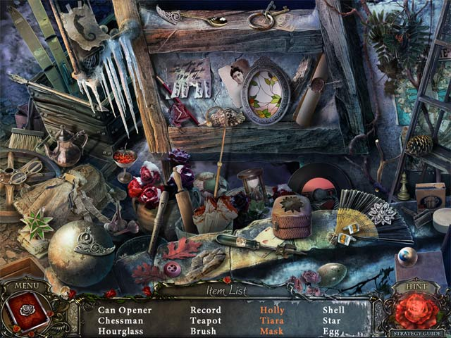 Living Legends: Ice Rose Collector's Edition Game screenshot 1