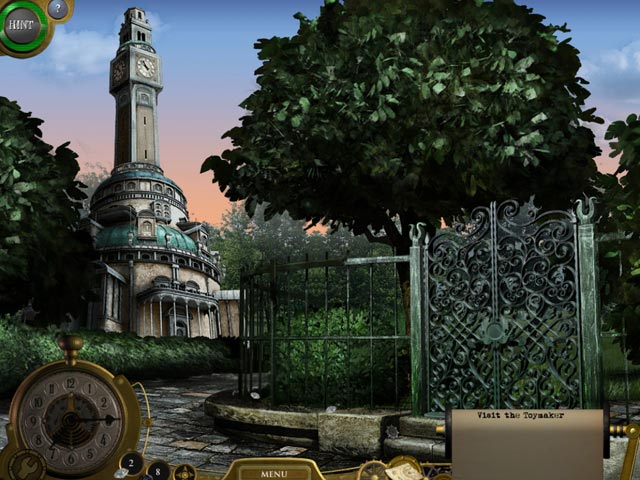 Lost in Time: The Clockwork Tower Game screenshot 1