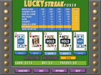 Lucky Streak Poker Games Download screenshot 3