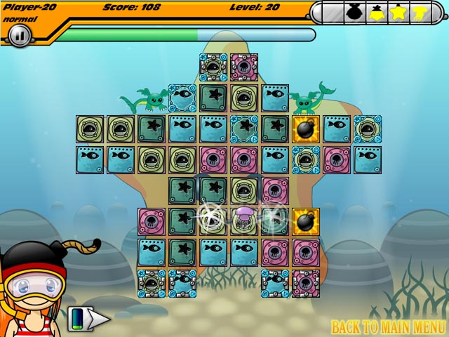 Magic Blast Game screenshot 2