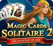 Free Magic Cards Solitaire 2: The Fountain of Life Game