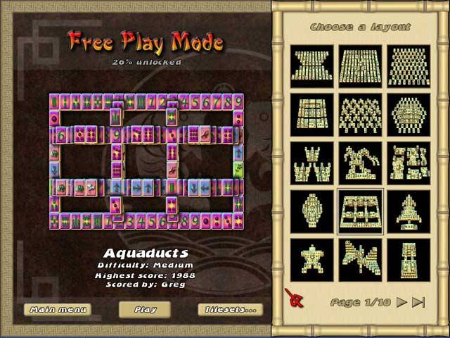 Mahjong: The Endless Journey Game screenshot 2