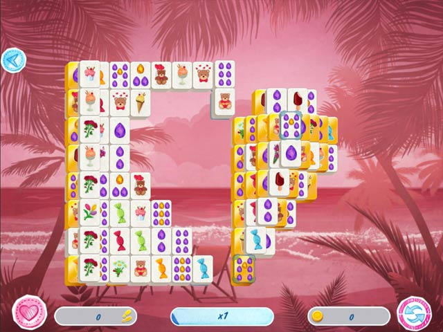 Mahjong Valentine's Day Game screenshot 3