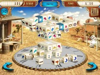 Mahjongg Dimensions Deluxe: Tiles in Time Game Download screenshot 2