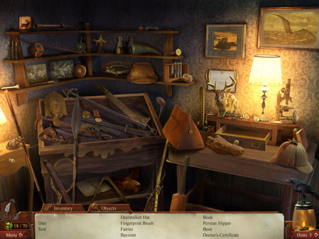 Midnight Mysteries: Haunted Houdini Deluxe Game screenshot 1