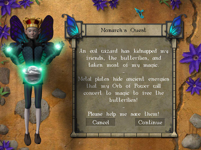 Monarch: The Butterfly King Game screenshot 2