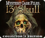 Free Mystery Case Files: 13th Skull Collector's Edition Game