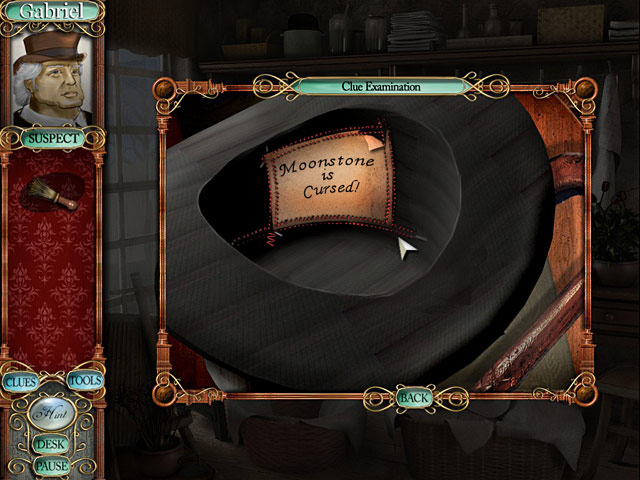 Mystery Masterpiece: The Moonstone Game screenshot 2