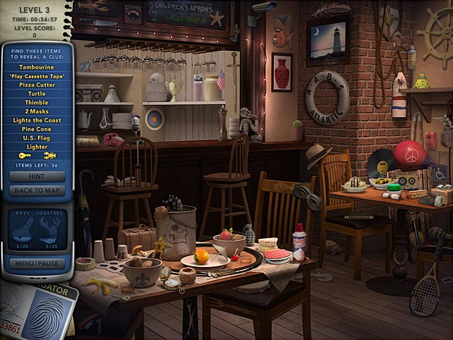 Mystery P.I.: The Curious Case of Counterfeit Cove Game screenshot 1
