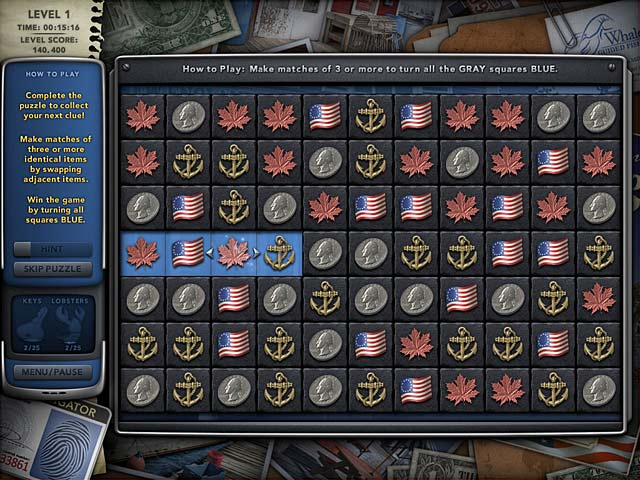 Mystery P.I.: The Curious Case of Counterfeit Cove Game screenshot 2