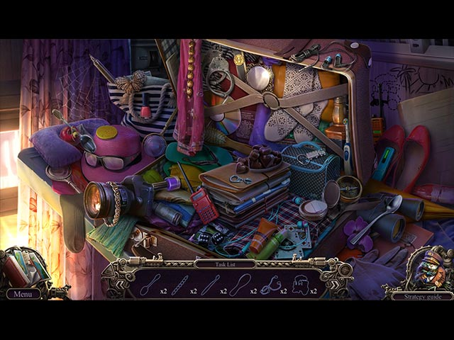 Mystery Trackers: Train to Hellswich Collector's Edition Game screenshot 1