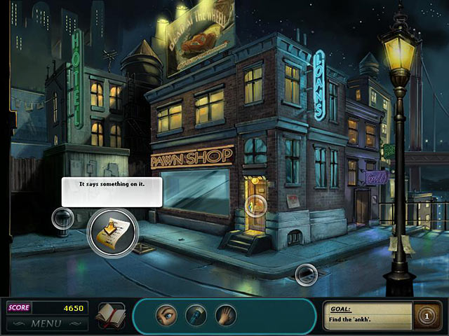 Nancy Drew Dossier: Lights, Camera, Curses Game screenshot 2