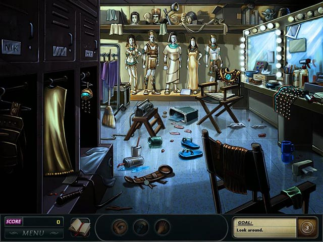 Nancy Drew Dossier: Lights, Camera, Curses Game screenshot 3