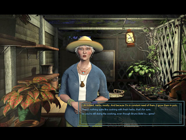 Nancy Drew: Legend of the Crystal Skull Game screenshot 1