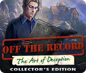 Free Off The Record: The Art of Deception Collector's Edition Game