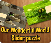 Free Our Wonderful World Game