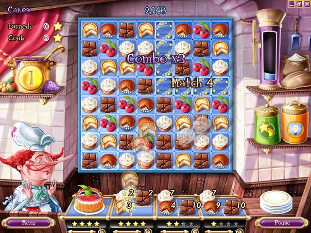 Pastry Passion Game screenshot 1