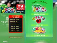 Pat Sajak's Lucky Letters: TV Guide Edition Game Download screenshot 2