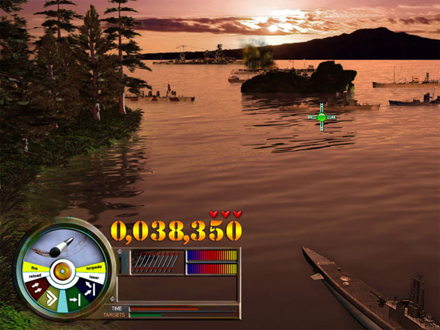 Pearl Harbor: Fire on the Water Game screenshot 1