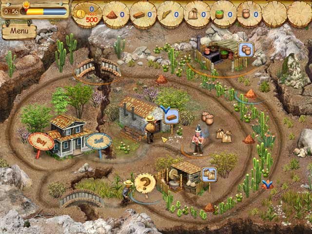 Pioneer Lands Game screenshot 2