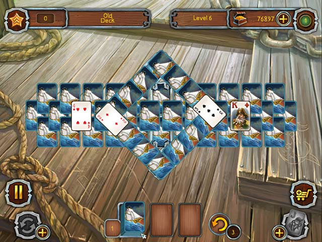 Pirate's Solitaire Game screenshot 3
