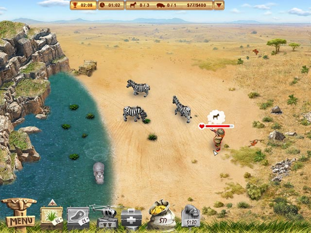 Project Rescue Africa Game screenshot 1