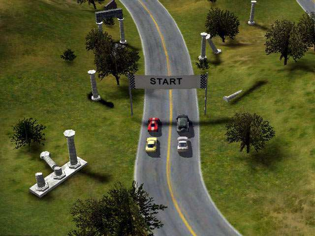 Race Cars The Extreme Rally Game screenshot 1