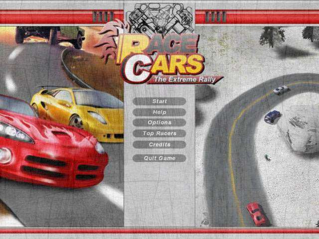 Race Cars The Extreme Rally Game screenshot 2