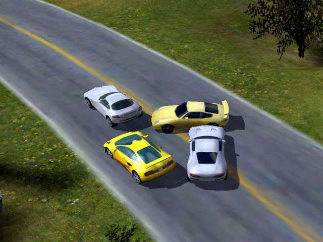 Race Cars The Extreme Rally Game screenshot 3