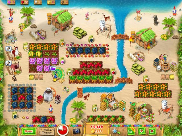 Ranch Rush 2: Sara's Island Experiment Game screenshot 3