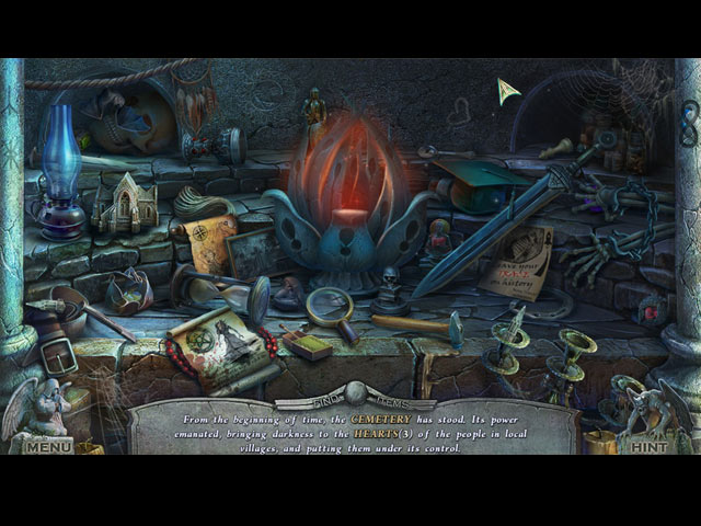 Redemption Cemetery: Embodiment of Evil Collector's Edition Game screenshot 2