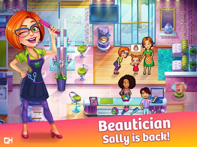 Sally's Salon: Beauty Secrets Collector's Edition Game screenshot 1