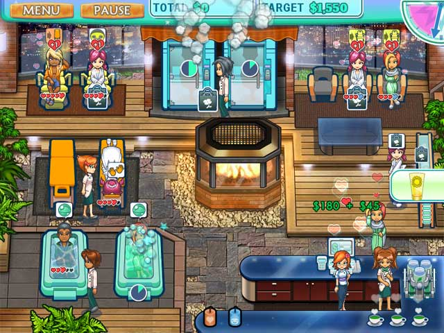 Sally's Spa Game screenshot 1
