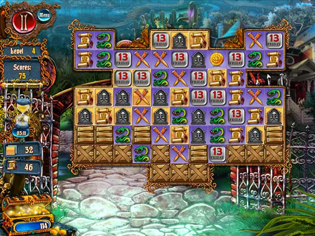 Save Halloween: City of Witches Game screenshot 3