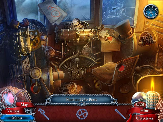 Scarlett Mysteries: Cursed Child Collector's Edition Game screenshot 2