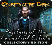 Free Secrets of the Dark: Mystery of the Ancestral Estate Collector's Edition Game