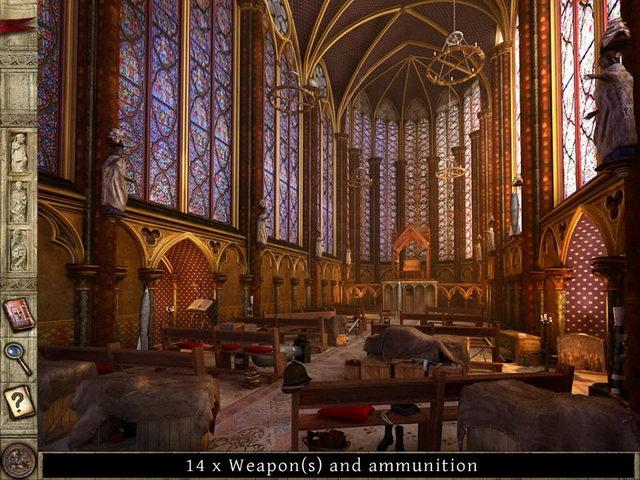 Secrets of the Vatican. The Holy Lance Game screenshot 2