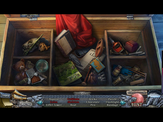 Shadow Wolf Mysteries: Curse of Wolfhill Collector's Edition Game screenshot 2