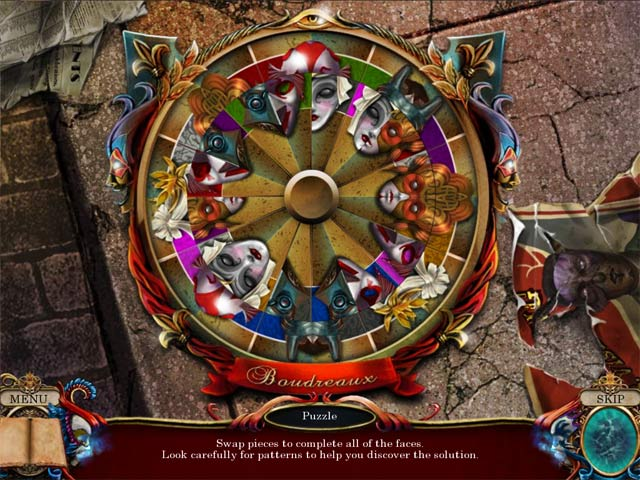 Shattered Minds: Masquerade Collector's Edition Game screenshot 3